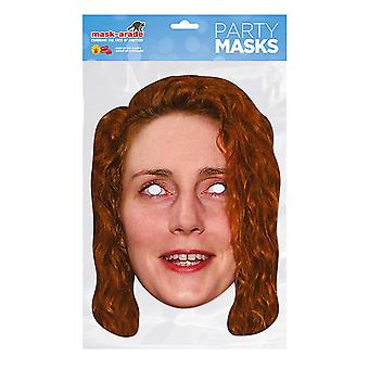 Máscara de fiesta de la máscara Rebeca Rebekah Brooks