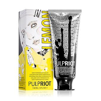 Pulp Riot Semi-permanent Cruelty-free & Vegan Hair Dye - Lemon 118ml