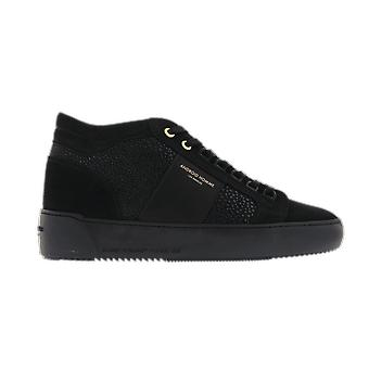 Android Homme Carbon Black Singray Suede Black AHP19101 shoe