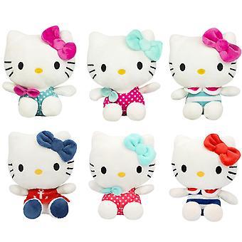 Hello Kitty, 1x Animaux farcis (13 cm) - Vendu au hasard