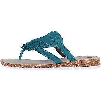Hush Pennut Naiset's Bryson Jade Flat Sandal