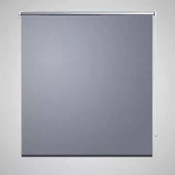 Blackout roller blind 160 x 175 cm grey