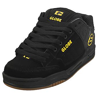 Globe Tilt Womens Skate Trainers in Black Caramello