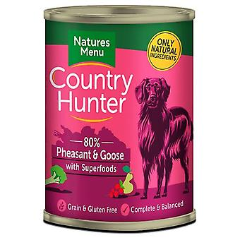Natures Menu Country Hunter Dog Food Can Pheasant & Goose (Dogs , Dog Food , Wet Food)