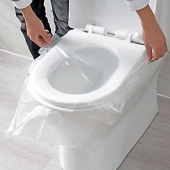 Wegwerp toiletbrilpapier cover-beschermende film