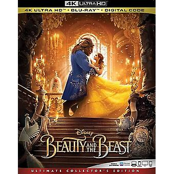 Beauty & Beast (Live Action) [Blu-ray] USA import