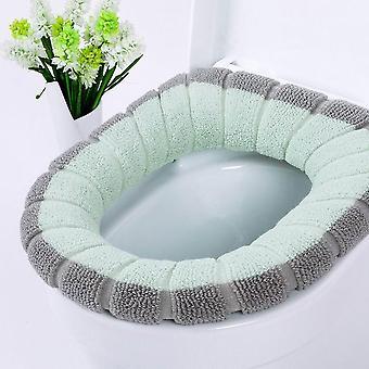Universele warme zachte wc-bril mat set