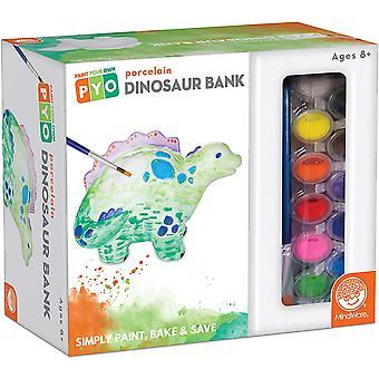 Mindware - paint your own dinosaur bank