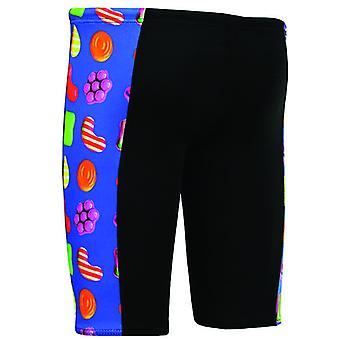 Maru Boys Candy Pacer Panel Jammer Junior Swim Shorts Trunks BK5564