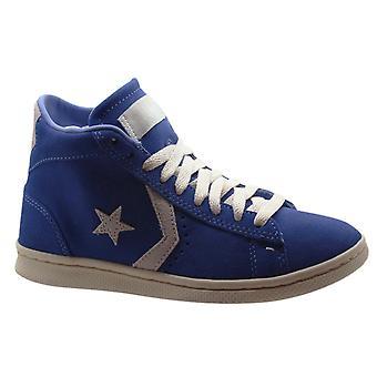 Converse All Star Pro Læder Vulc Mid Blue Herre Trænere Blå 136963C B25A