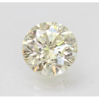 معتمد 2.10 قيراط J VS2 جولة رائعة المحسنة الطبيعية فضفاضة الماس 8.06mm