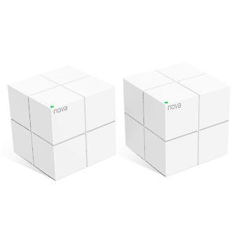 Tenda nova mw6-2 whole home mesh wi-fi system; get rid of wi-fi dead zones; 4000sq² wi-fi coverage,