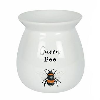Something Different Queen Bee Blossom and Bee Wax Melt Burner Set
