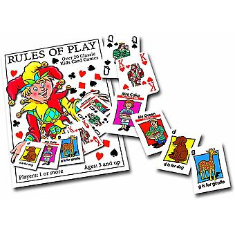 University Games Classic Kids Playing Cards