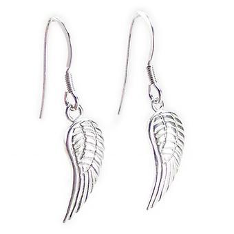 Angel Wings Sterling hopea pudota korvakorut .925 Enkelit Suojelu
