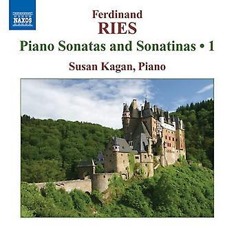 F. Ries - Ferdinand Ries: Klavier-Sonaten und Sonatinen, Vol. 1 [CD] USA import