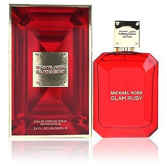 Michael Kors Glam Rubin Eau De Parfum Spray von Michael Kors 3,4 oz Eau De Parfum Spray