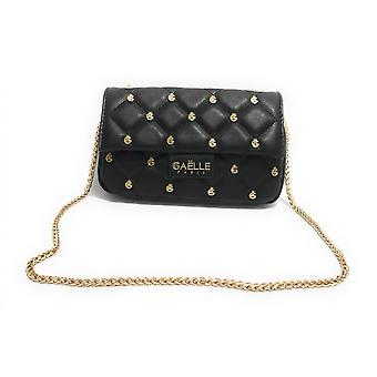 Bag Woman Gaëlle Mini Shoulder Strap Ecopelle Quilted Black Bs21ge31 Gbda2253