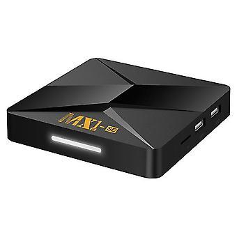 Mx1-se tv-boks rk3228a android 9,0 netværksafspiller 1gb +8GB 2,4 g wifi quad core 4k hd tv-medieafspiller (EU-stik)