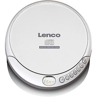 Lenco CD-201 - Tragbarer CD-Player Walkman - Diskman - CD Walkman - MP3 Funktion - Antishock - Mit