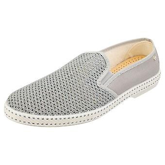 Rivieras Classic 20 Mens Espadrille Shoes in Grey