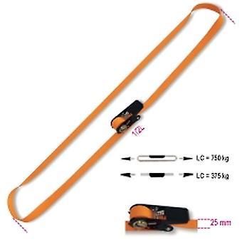 Beta-081880350 Ring Ratchet Tie tiefen 750 Kg-Ten Gürtel 25mmx5 Meter