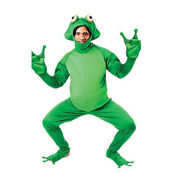 Orion kostuums Unisex groene kikker jumpsuit fancy dress funny animal kostuum