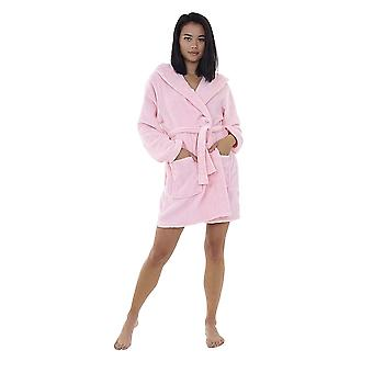 Brave Soul Dames / Womens Bunny Rabbit Hooded Dressing Gown