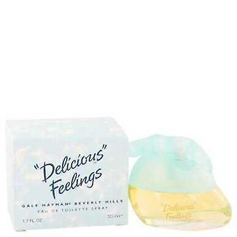 Delicious Feelings By Gale Hayman Eau De Toilette Spray 1.7 Oz (women) V728-403623