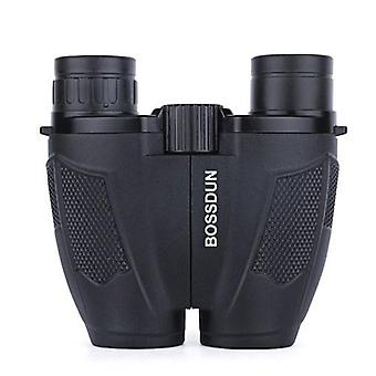 BOSSDUN Binocular Telescope 10X25 High Power Adults Kids Binoculars with Low Light Vision Waterproof Binocular Handheld or Neck Hanging for Bird Watching Hunting Traveling Sports Opera Outdoor Activities