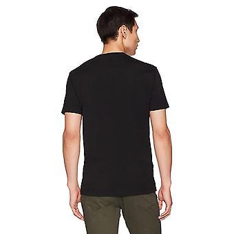 "Goodthreads Men's ""The Perfect Crewneck T-Shirt"" Short-Sleeve Cotton, Black, X-Small"