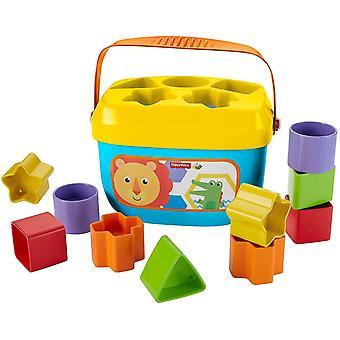 FengChun FFC84 - Babys Erste Bausteine Baby Spielzeug Formensortierspiel mit Spielwrfeln und Eimer