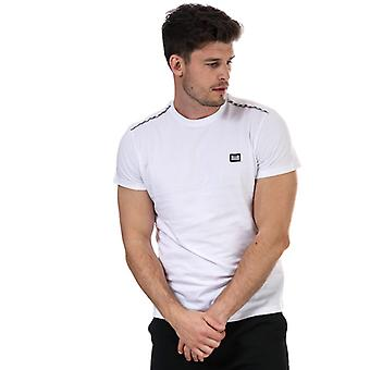 Men's Weekend Offender Medellin Piped T-Shirt in White