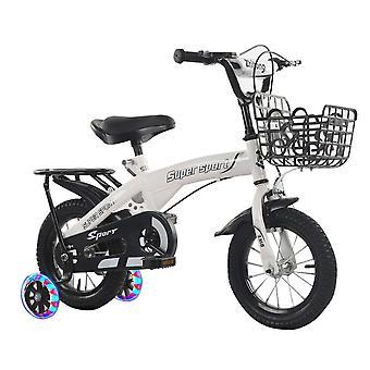 Crianças Bike Boys Bike com Freio de Pinça Dianteira e Rodas de Treinamento Flash 12 14 16 18 polegadas para idades 2 anos ou mais