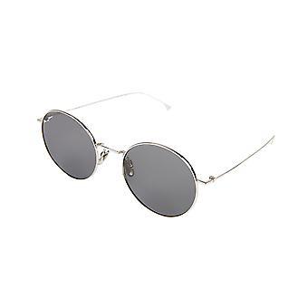 KOMONO Yoko silver smoke - women's sunglasses
