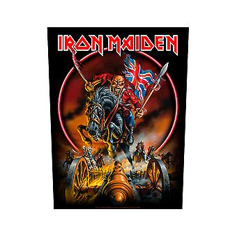 Iron Maiden - England Back Patch