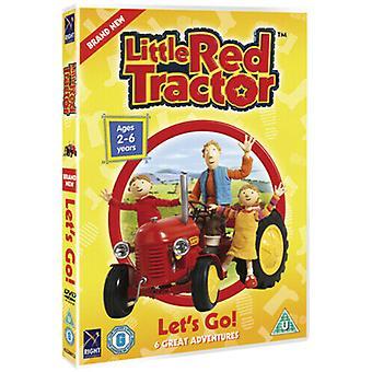 Pequeno Trator Vermelho Deixa Ir DVD (2007) cert U Região 2