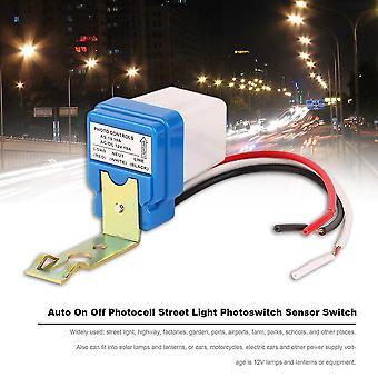 Ac Dc 12v 10a Auto On Off Photocell Street Light Photoswitch Sensor Switch