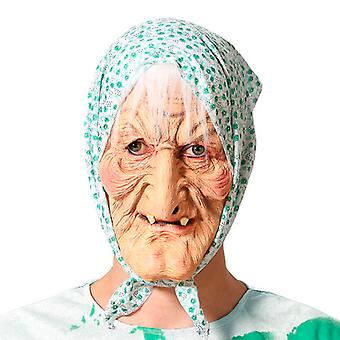 Máscara Halloween Anciana Látex