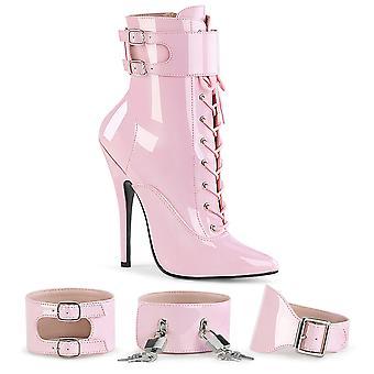 Devious Women's Shoes DOMINA-1023 B. Pink Pat