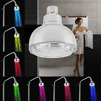 Durable Led Light Shower Heads 7 Colors Changing Faucet Bathroom Showerhead