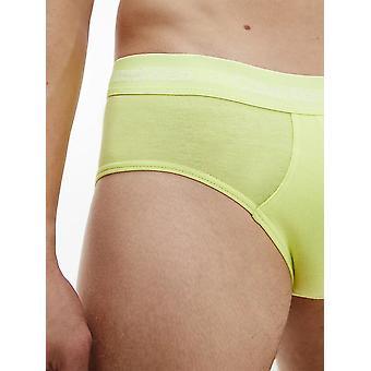 Calvin Klein 3 Pack Briefs - Cotton Stretch ( Hemisphere/ direct Green / blue Flan )