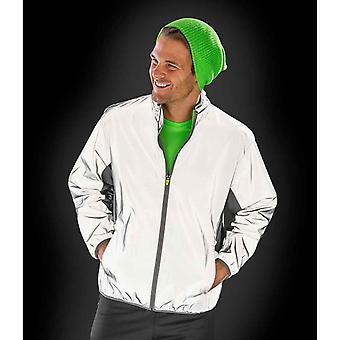 Spiro Mens Luxe Reflective Waterproof Jacket