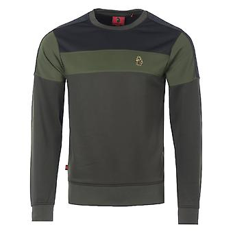 Luke 1977 Loki Crew Neck Sweatshirt - Olive