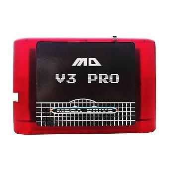 Mega Drive V3 Pro yhdessä Kiina-versiossa Md-pelikasetti
