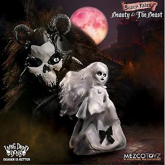 Living Dead Dolls 95065 Presents Beauty and The Beast Figure