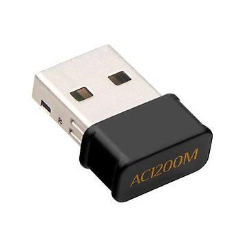 USB WiFi-adapter 802.11AC Dongle-netwerkkaart 2.4G en 5G dual-band draadloze WiFi-ontvanger