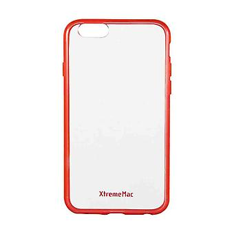 XtremeMac Microshield Accent Soft Grip Protective Cover for iPhone 6/6S - Red