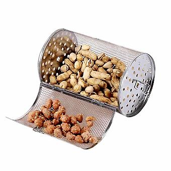 Stainless Steel Grilled Over Cage Roaster Drum For Peanut Dried