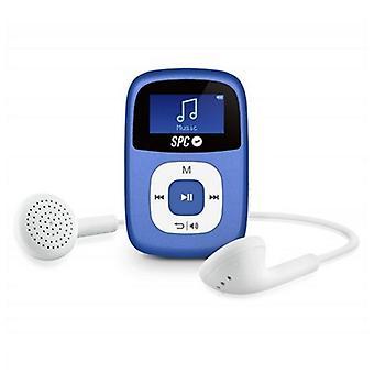 MP3 Player SPC Sparrow 8644A 4 GB blått klipp